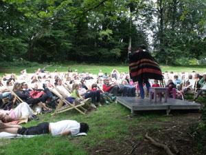 les siestes contées au festival Paroles de Conteurs